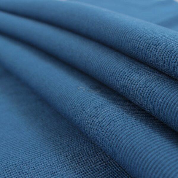 indigo melynas ribb trikotazas