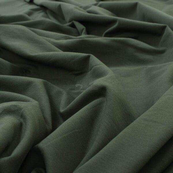 chaki spalvos kilpinis trikotažas