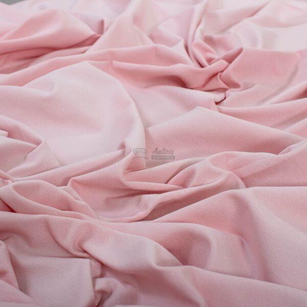 svelniai rozinis, baby pink, kilpinis trikotazas