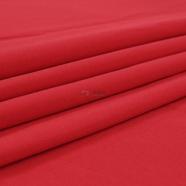 ryskus raudonas kilpinis trikotazas su pukeliu