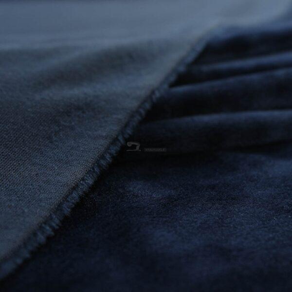tamsiai melynas soft veliuras