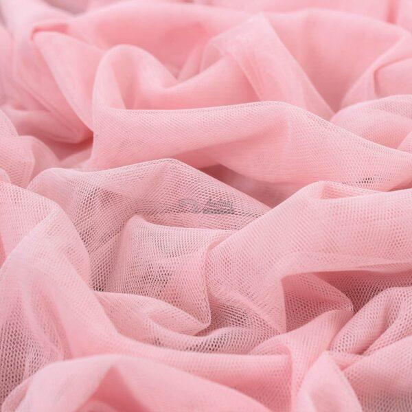 sviesiai rozinis elastingas tiulis