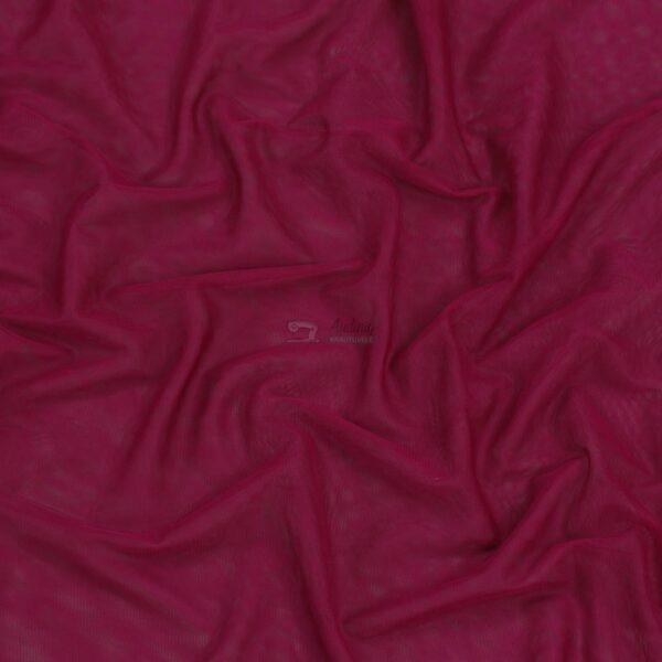 baklazano spalvos elastingas minkstas tiulis