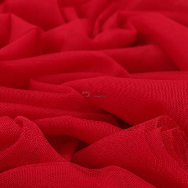 raudonas minkstas elastingas tiulis