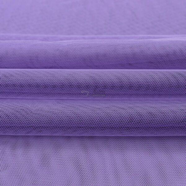 violetinis minkstas elastingas tiulis