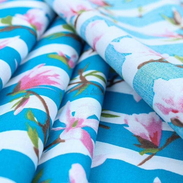 patalynes medvilne su magnolijom