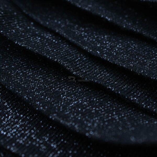 tamsiai melyna su sidabro siulu ribb juosta
