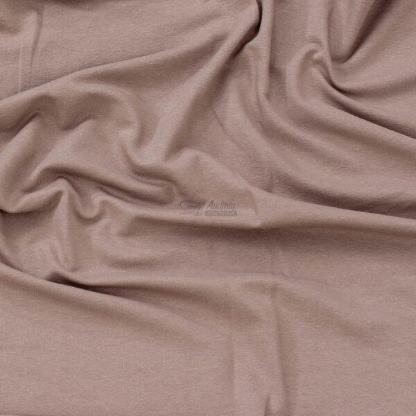 kakavines spalvos kilpinis trikotazas su pukeliu