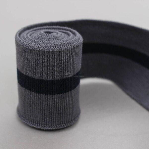 tamsiai pilkas antracito ribb juosta su rasalo melyna juostele