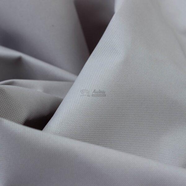 sidabro pilkas lauko baldu audinys