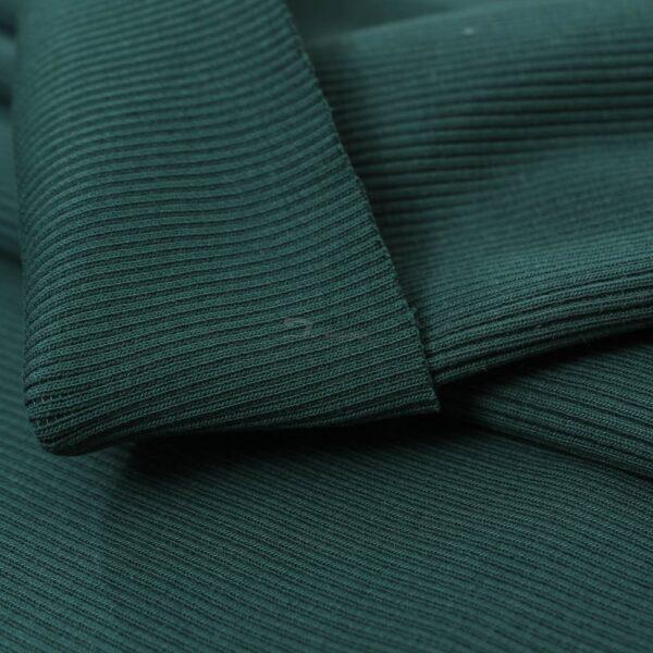 smaragdo zalios spalvos ribb trikotazas