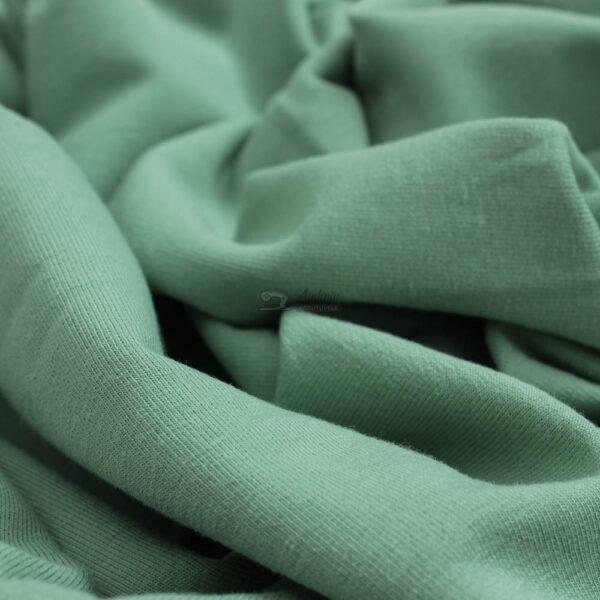 zalsvas mineral kilpinis trikotazas su pukeliu ir elastanu