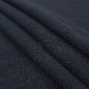 tamsiai melynas vilnos paltinis audinys