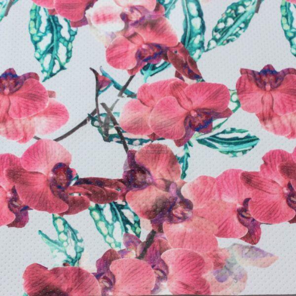 fakturinis neoprenas orchidejos, skaitmenine spauda