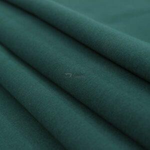 smaragdo zalias kilpinis trikotazas su pukeliu