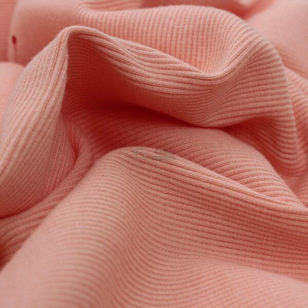 persiko spalvos ribb trikotazas