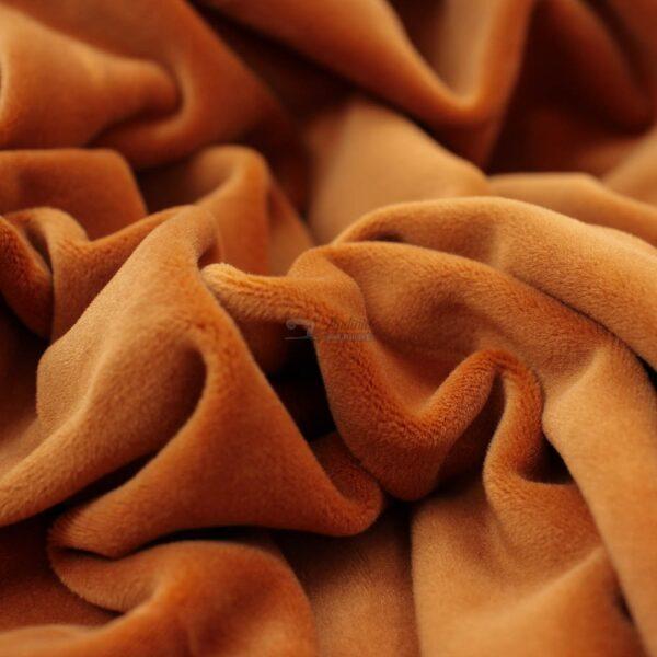rudai oranzinis soft veliuras