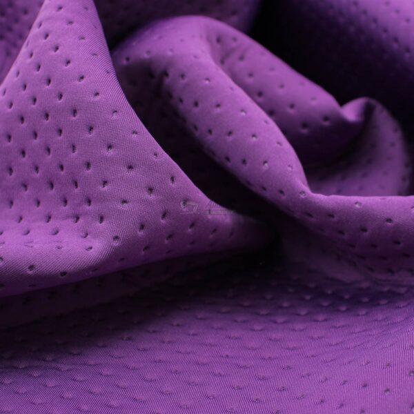 violetinės spalvos fakturinis neoprenas