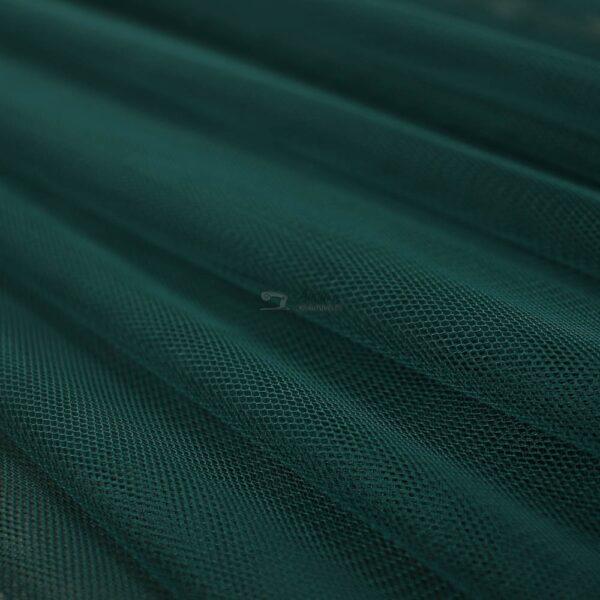 smaragdo spalvos tiulis