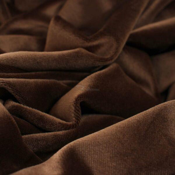 rudos sokoladines spalvos soft veliuras