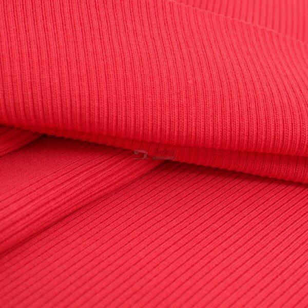 koralo spalvos ribb trikotazas