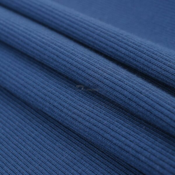 dzinso melynas ribb trikotazas