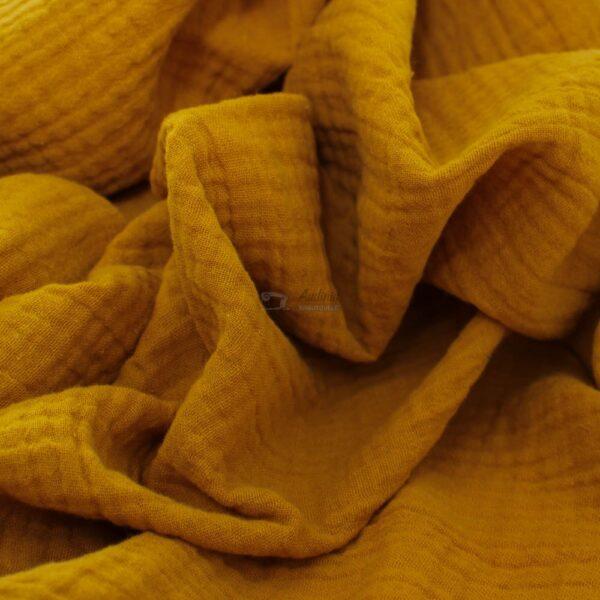 geltonos spalvos muslinas
