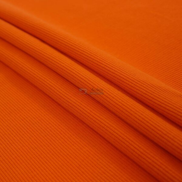 oranzines spalvos ribb trikotazas