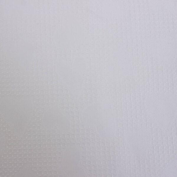 sirdutes baltas suknelinis audinys