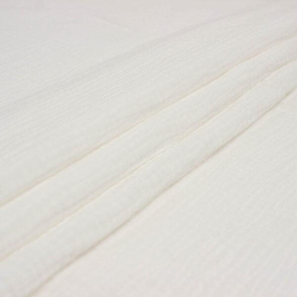 pieno baltas medvilnes muslinas