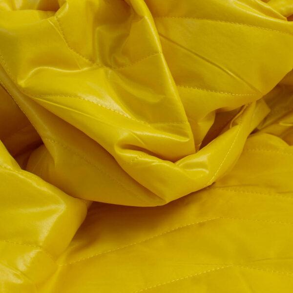 geltonas vienpusis striukinis audinys